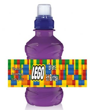 Lego Bottle Label Wrapper.